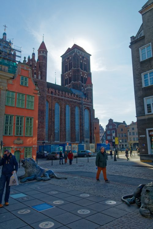 Viewpoints in Gdansk - St Mary's Church Tower