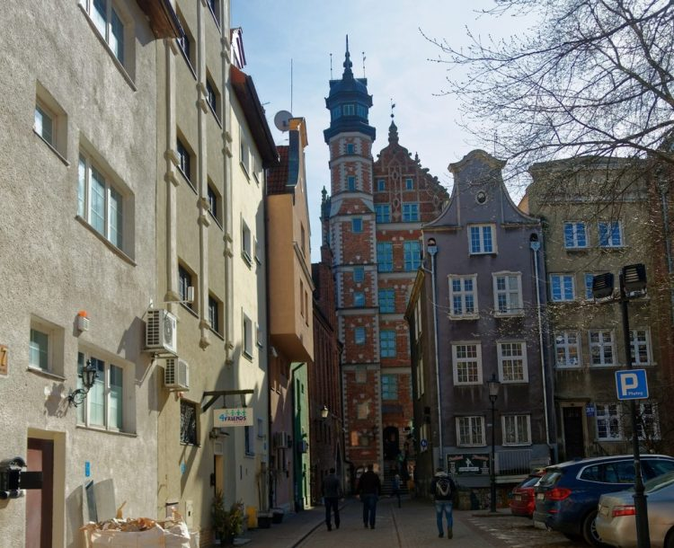 Viewpoints in Gdansk - Archeological Mmuseum Tower