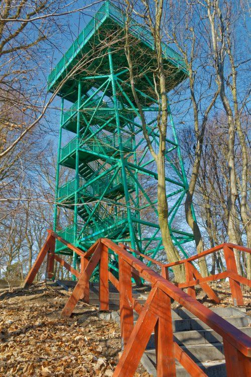 Viewpoints in Gdansk - Oliwa Viewpoint Tower Pacholek