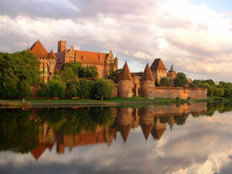 Malbork castle near Gdansk