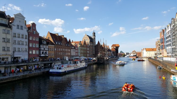 Things to do in Gdansk - hiring a kayak