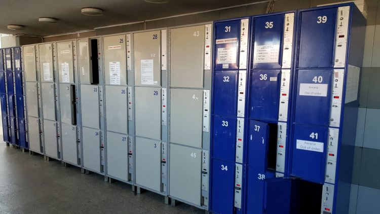 Gdansk - left luggage lockers in Gdansk
