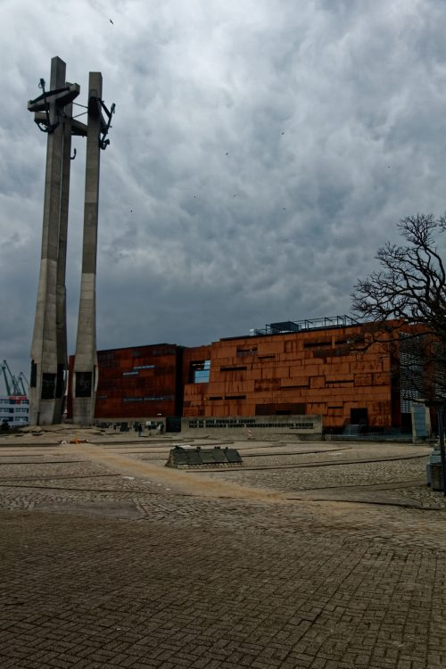 Museums in Gdansk - European Solidarity Centre - Three Cross Square