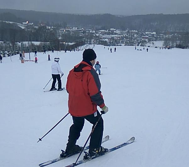 Winter in Gdansk - Przywidz slope