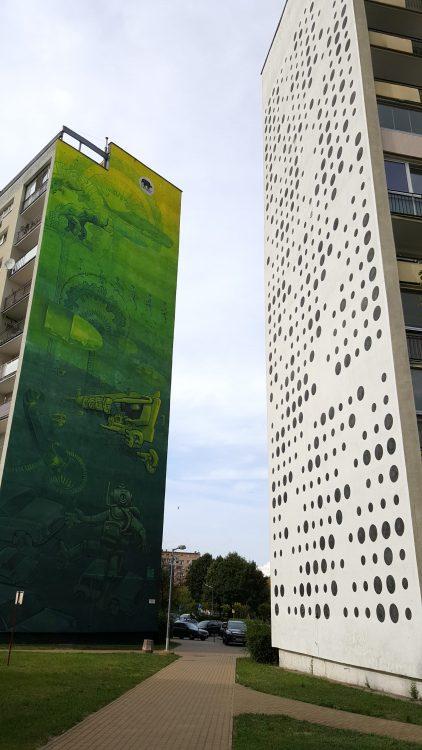 Gdansk Zaspa murals