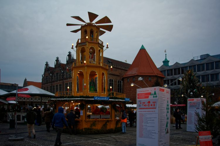 Gdansk Christmas Fair - Angels Mill