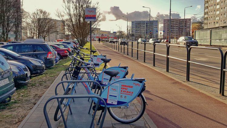 Mevo - Gdansk bike station