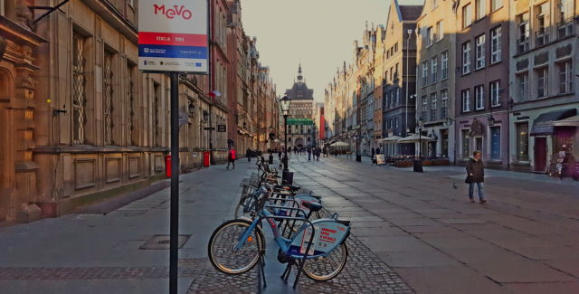 Mevo – Public bike system in Gdansk