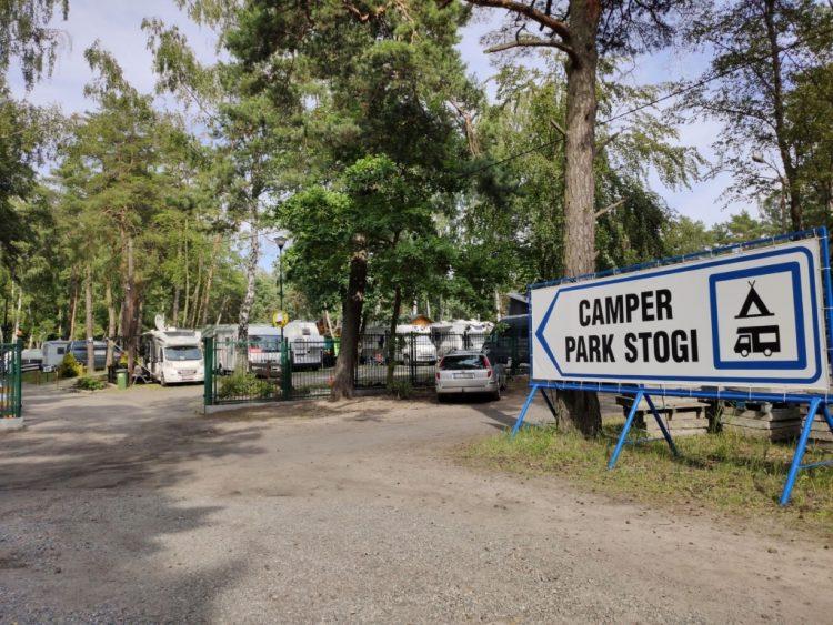Camper Park in Gdansk Stogi