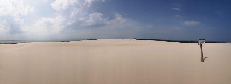 Leba sand dunes
