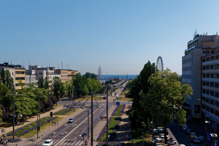 Gdynia - view from the Infobox