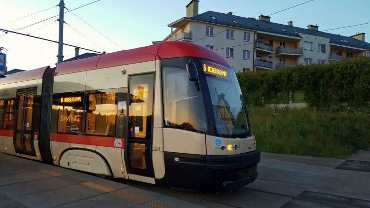 Transporte público en Gdansk - tranvía
