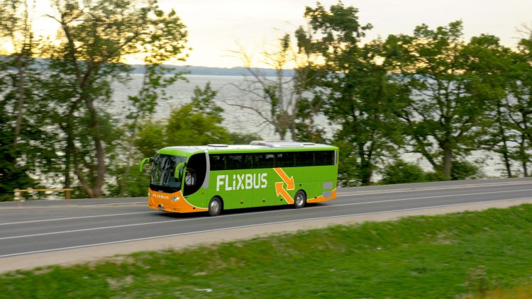 Flixbus buses in Poland