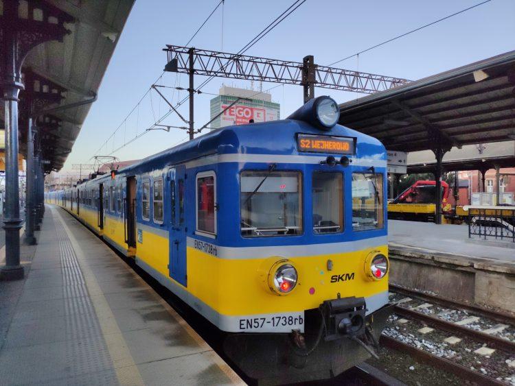SKM Gdansk-Gdynia tren