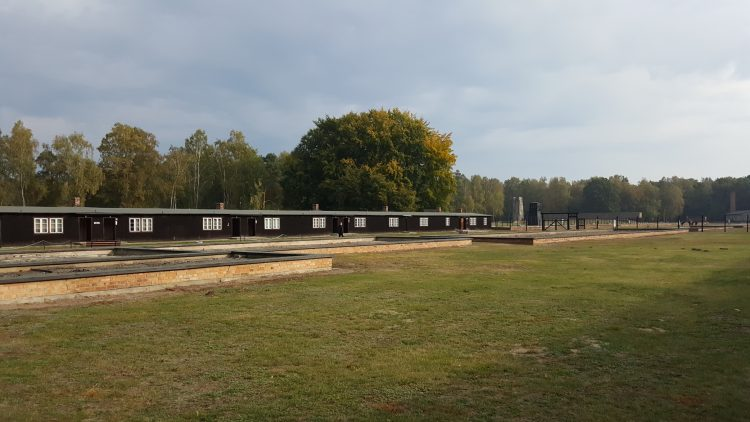 Cuarteles en el Museo del campo de concentración de Stutthof