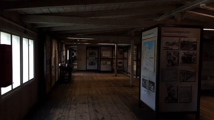 Campo de concentración de Stutthof - dentro del cuartel